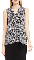 Vince Camuto Petite Women's Sleeveless V-Neck Top