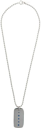 Marni Double Tag Necklace