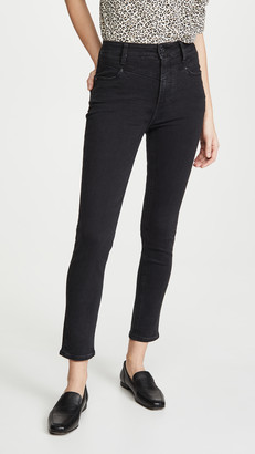 Paige Margot Ankle Jeans with Front Yoke