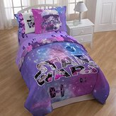 NEW! Star Wars Galaxy 4-Piece Queen Size Sheet Set for Kids Made of 100% Polyester, Includes Flat Sheet, Fitted Sheet, and Pillowcase