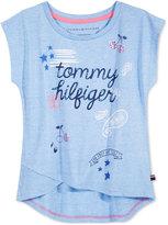 Tommy Hilfiger Graphic-Print T-Shirt, Big Girls (7-16)