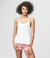 Prince & Fox Solid Lace Babydoll Tank