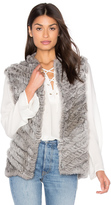Heartloom Seren Rabbit Fur Vest