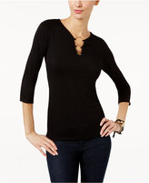 INC International Concepts Petite Ring-Hardware Top, Only at Macy's