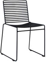 Black Club Wire Dining Chair