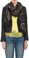 Givenchy Women's Floral-Print Silk-Blend Scarf