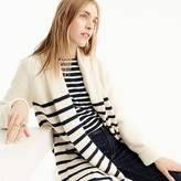 J.Crew Long open cardigan sweater in stripe