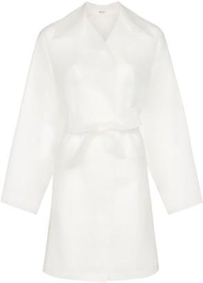 Kassl Editions transparent belted raincoat