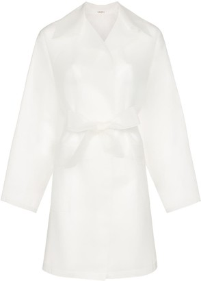 Kassl Editions Transparent Belted Raincoat