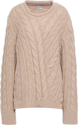 By Malene Birger Pitala Oversized Cable-knit Sweater