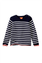 Joe Fresh Solid Stripe Top (Toddler & Little Girls)