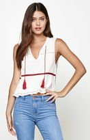 Somedays Lovin River Tassel Sleeveless Top