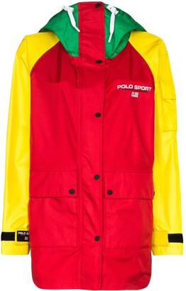 Polo Ralph Lauren Colour Block Logo Jacket