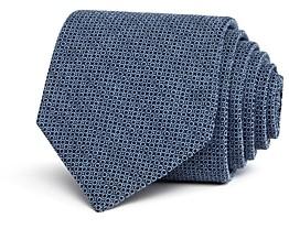John Varvatos Mini-Circle Silk Classic Tie