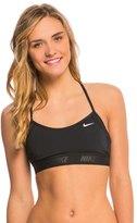 Nike Women's Solids Racerback Sport Bra Bikini Top 8135844