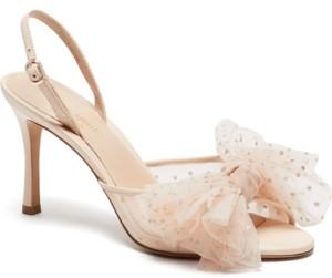 Kate Spade Women's Bridal Sparkle Evening Dress Heels