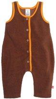 Zutano Cozie Overall (Baby) - Chocolate-6 Months