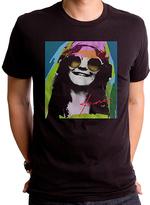 Goodie Two Sleeves Black Janis Psychedelic Tee - Men's Regular