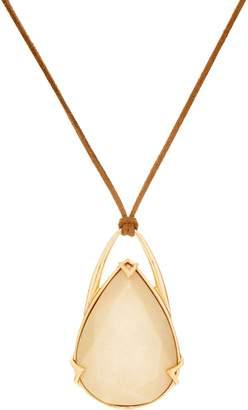 """Brooke Shields Timeless BROOKE SHIELDS Timeless Teardrop 36"""" Adjustable Cord Necklace"""