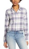 Vans Box Car Plaid Flannel Shirt