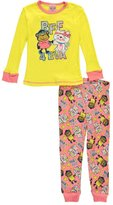 "1000% Cute Little Girls' Toddler ""BFF 4 EVA"" 2-Piece Pajamas"