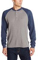 Wolverine Men's Rykker Baseball Style Blended Thermal 3 Button Henley Shirt