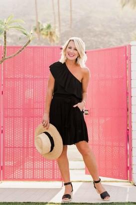 Gibson Capri Tiered Tie Front Summer Skirt