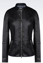 Armani Jeans Leather Blouson