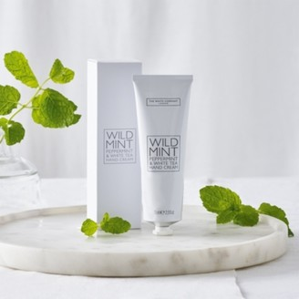 The White Company Wild Mint Hand Cream , No Colour, One Size