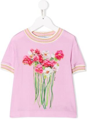 Mi Mi Sol Floral Knit Top