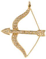 Sydney Evan Diamond Bow and Arrow Necklace
