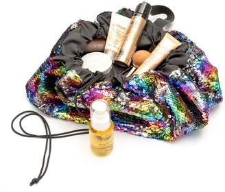 Rio Rainbow Drawstring Make-up Bag