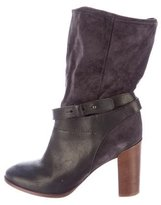 Vince Gwen Leather Ankle Boots