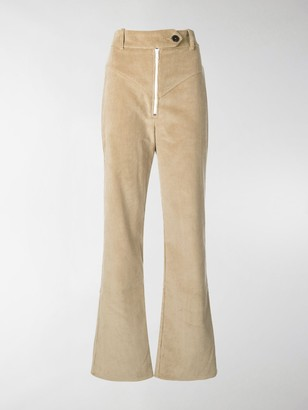 A.W.A.K.E. Mode Yoke Detail Corduroy Trousers