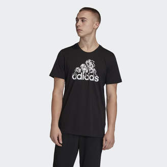 adidas Lil' Stripe Badge of Sport Graphic Tee