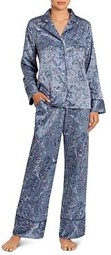 Jonquil Paisley Satin Long Pajama Set