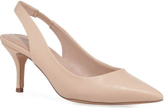 Charles by Charles David Amy Leather Slingback Pumps