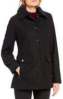Preston & York Snap Front Wool Coat