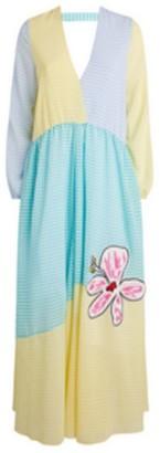 Mira Mikati Gingham Maxi Dress