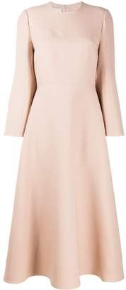 Valentino Bell Sleeve Midi Dress