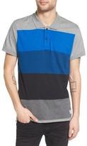 Ezekiel Men's Colorblock Jersey Polo