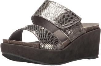 Volatile Women's Sateen Wedge Sandal