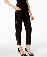 Nine West Piped Pull-On Pants