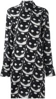 Nina Ricci 'cats' print dress - women - Silk - 40