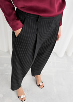 And other stories Tapered Varsity Stripe Trousers