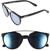 Revo Men's 'Kingston' 52Mm Polarized Sunglasses - Black/ Blue Water