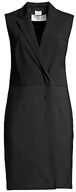 BOSS Women's Diloise Tailored Tuxedo Sheath