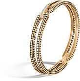 John Hardy Dot 9.5MM Bracelet in 18K Gold with Diamonds
