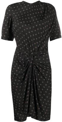 Etoile Isabel Marant Bardeny draped dress