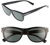 Valentino Women's 53Mm Sunglasses - Black/ Green